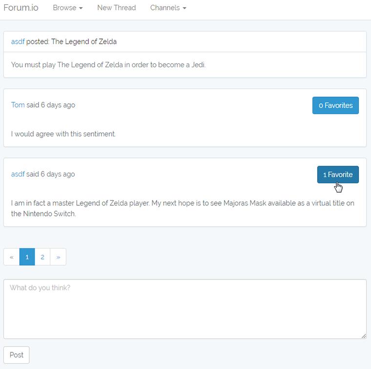 پیکربندی فرم و دکمه برای ارسال درخواستهای Post