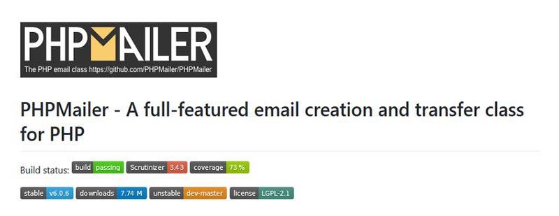 3.ارسال ایمیل با PHPMailer