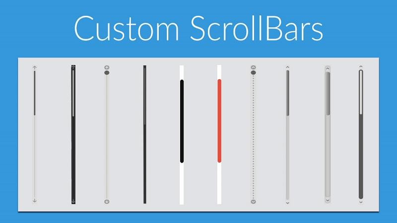 ساخت یک اسکرول بار زیبا و سفارشی با CSS3