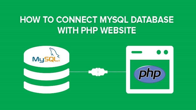 نحوه اتصال دیتابیس MySQL به وب سایت های PHP