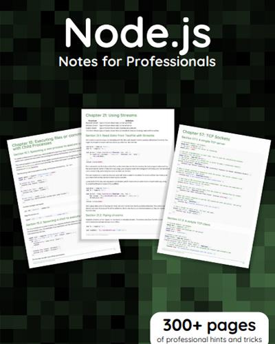 کتاب آموزش Node.js برای حرفه ای ها