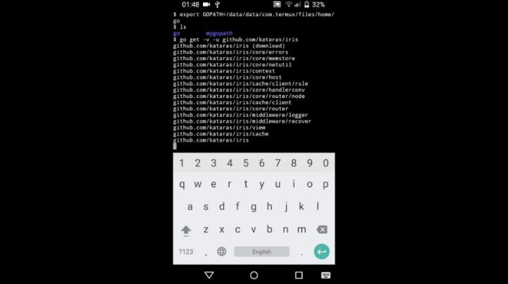 android web server | تبدیل گوشی تلفن همراه به web server